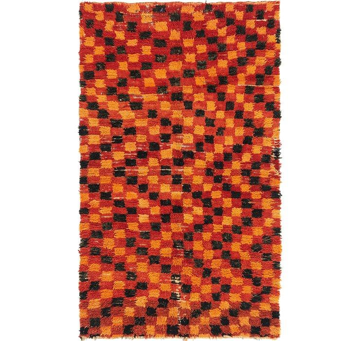 4' 6 x 7' 8 Moroccan Rug
