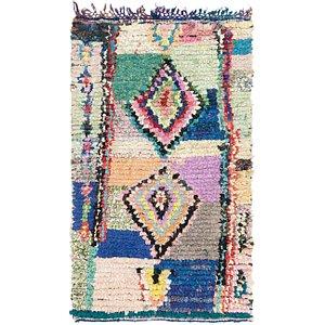 4' 3 x 7' 2 Moroccan Rug