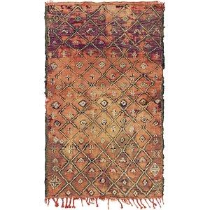 4' 3 x 7' Moroccan Rug