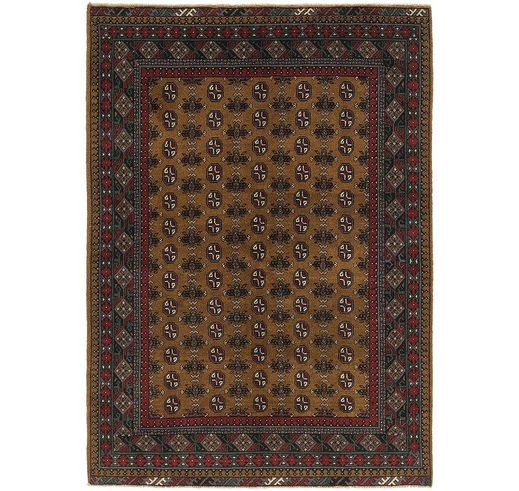 168cm x 240cm Afghan Akhche Rug