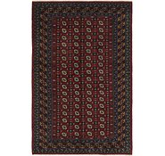 Link to HandKnotted 5' 4 x 8' 4 Afghan Akhche Rug