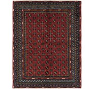 Link to 175cm x 225cm Afghan Akhche Rug