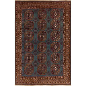 Link to 6' 8 x 10' Afghan Akhche Rug item page