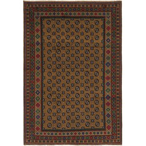 Link to 198cm x 290cm Afghan Akhche Rug item page