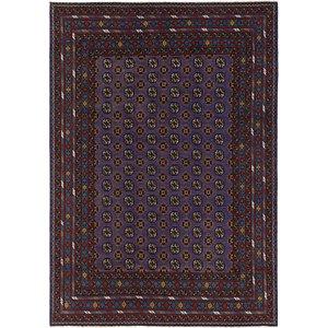Unique Loom 6' 9 x 9' 6 Afghan Akhche Rug