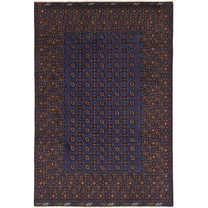 Unique Loom 6' 8 x 9' 9 Afghan Akhche Rug