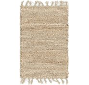 Link to Unique Loom 1' 5 x 2' 2 Metallic Jute Rug