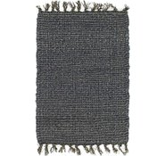 Link to Unique Loom 1' 6 x 2' Metallic Jute Rug