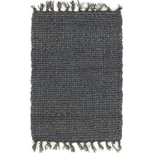 Unique Loom 1' 6 x 2' Metallic Jute Rug