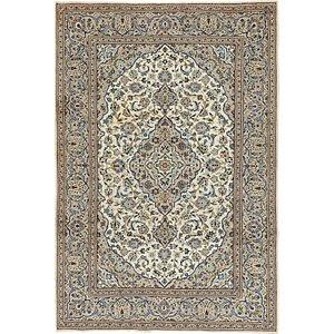 6' 7 x 9' 10 Kashan Persian Rug
