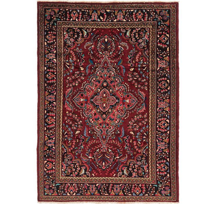 7' x 10' 3 Borchelu Persian Rug