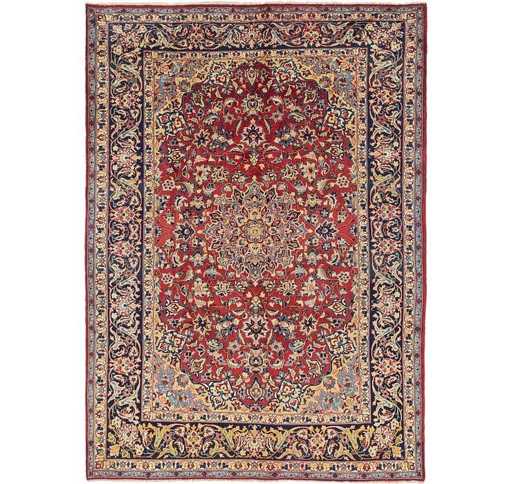 7' x 9' 9 Isfahan Persian Rug