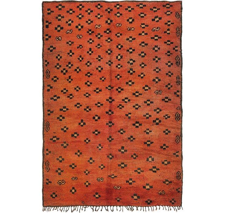 5' 2 x 7' 7 Moroccan Rug