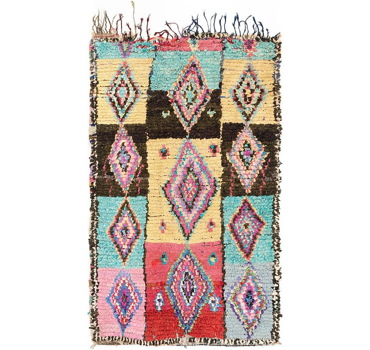 4' 8 x 7' 3 Moroccan Rug