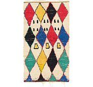 Link to 4' 4 x 8' Moroccan Runner Rug