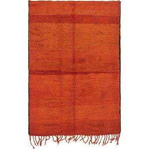 Unique Loom 4' 3 x 6' Moroccan Rug