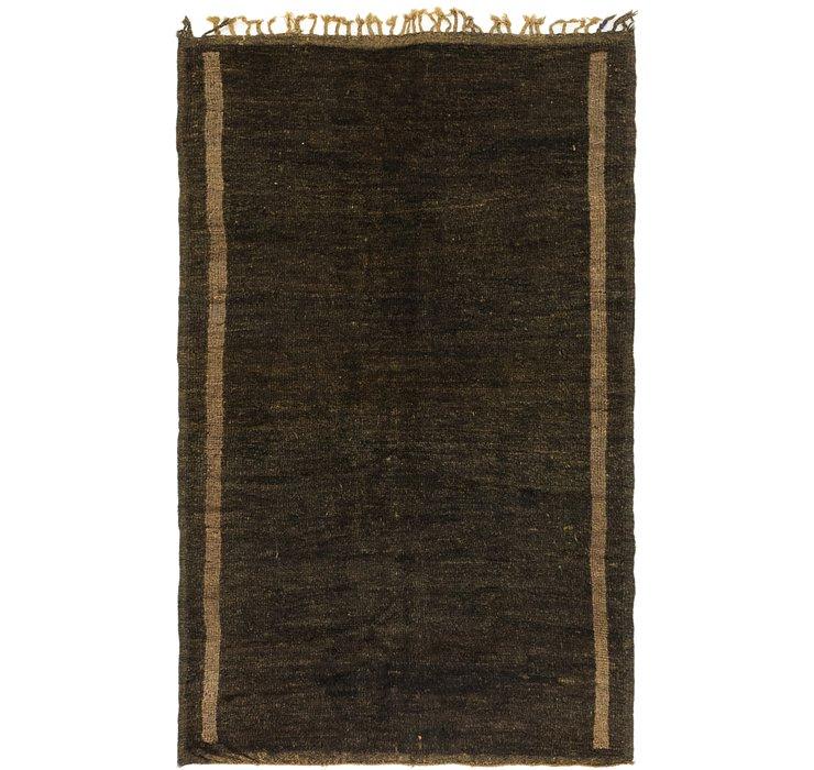 4' x 6' 5 Moroccan Rug