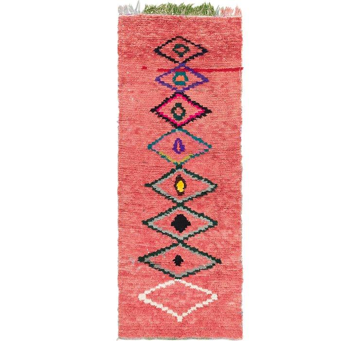 3' x 8' Moroccan Runner Rug