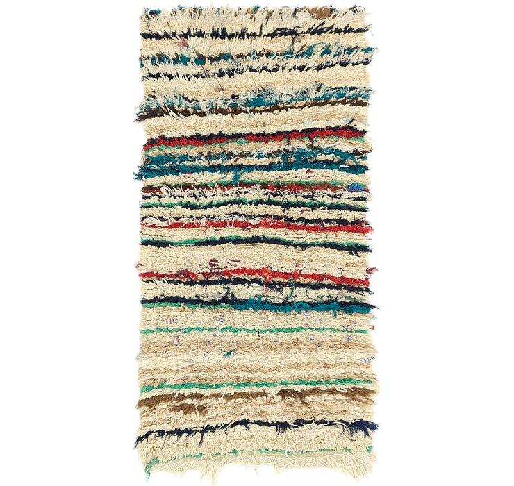 2' 9 x 5' 2 Moroccan Rug