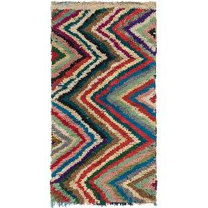 Unique Loom 4' x 7' Moroccan Rug