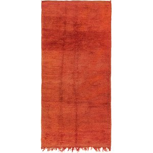 HandKnotted 3' 7 x 7' 5 Moroccan Runner Rug
