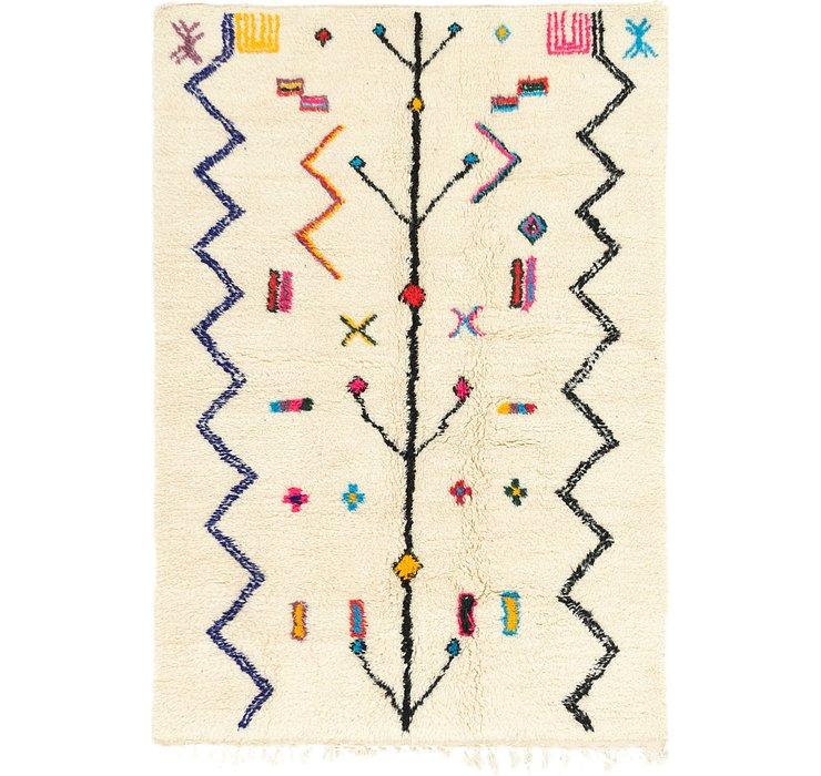 4' 9 x 6' 9 Moroccan Rug