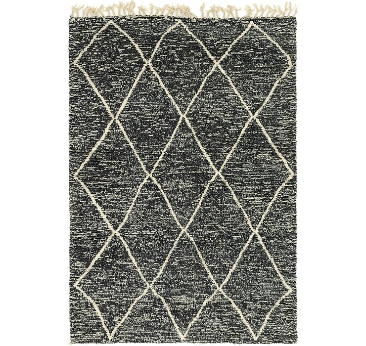 HandKnotted 5' x 7' 3 Moroccan Rug