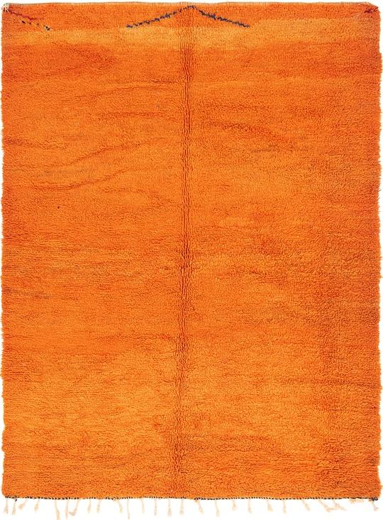 Orange  6' x 7' 10 Moroccan