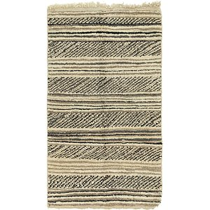 3' 10 x 6' 8 Moroccan Rug
