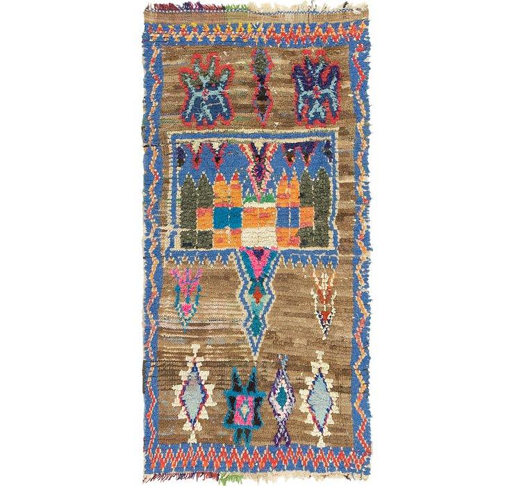 3' x 6' Moroccan Runner Rug
