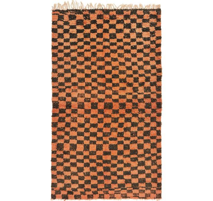 4' 2 x 7' 2 Moroccan Rug