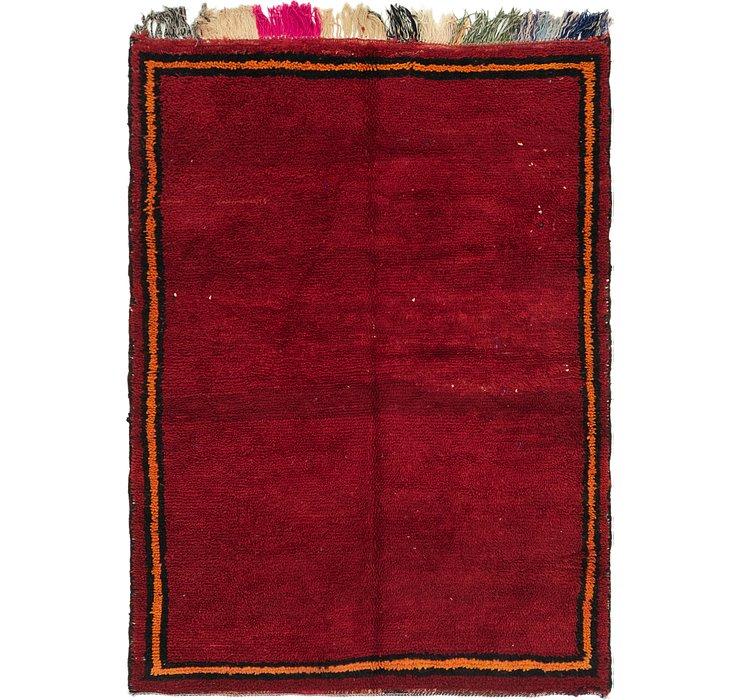 4' 8 x 6' 5 Moroccan Rug