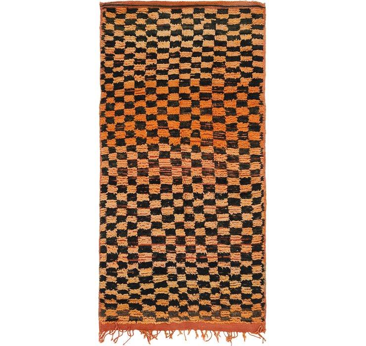 3' 6 x 6' 10 Moroccan Rug