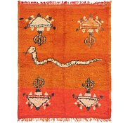 Link to 4' 4 x 5' 4 Moroccan Square Rug