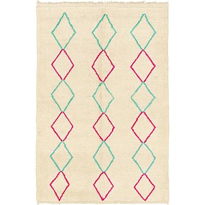 Link to 5' 6 x 8' Moroccan Rug item page