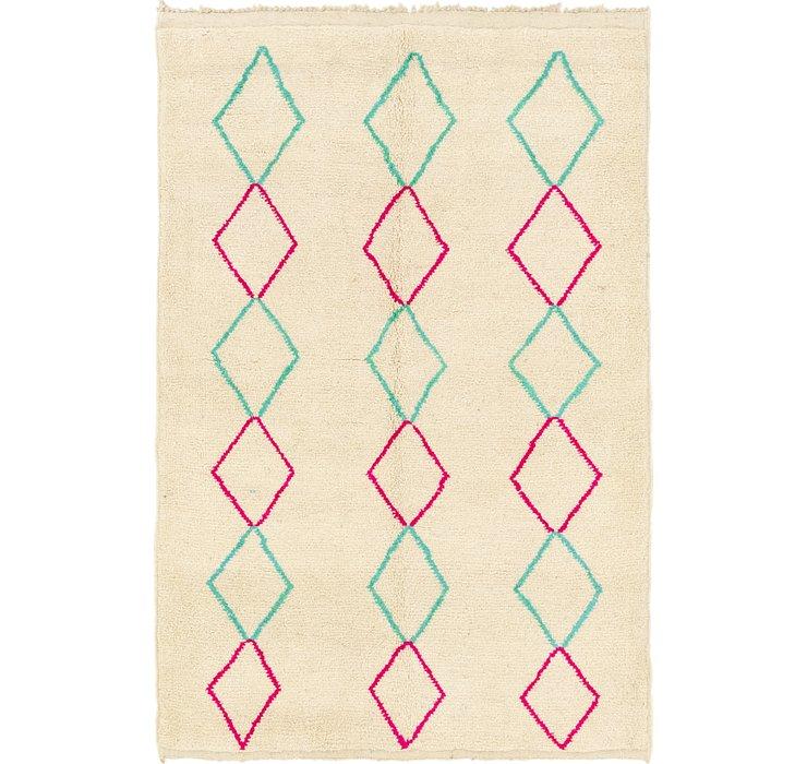 5' 6 x 8' Moroccan Rug