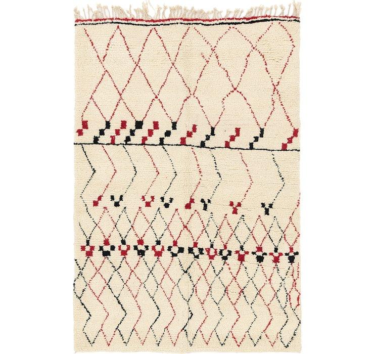 5' 2 x 7' 4 Moroccan Rug
