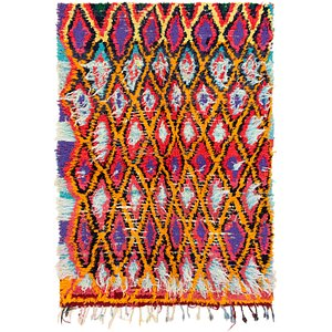 4' 6 x 6' 6 Moroccan Rug