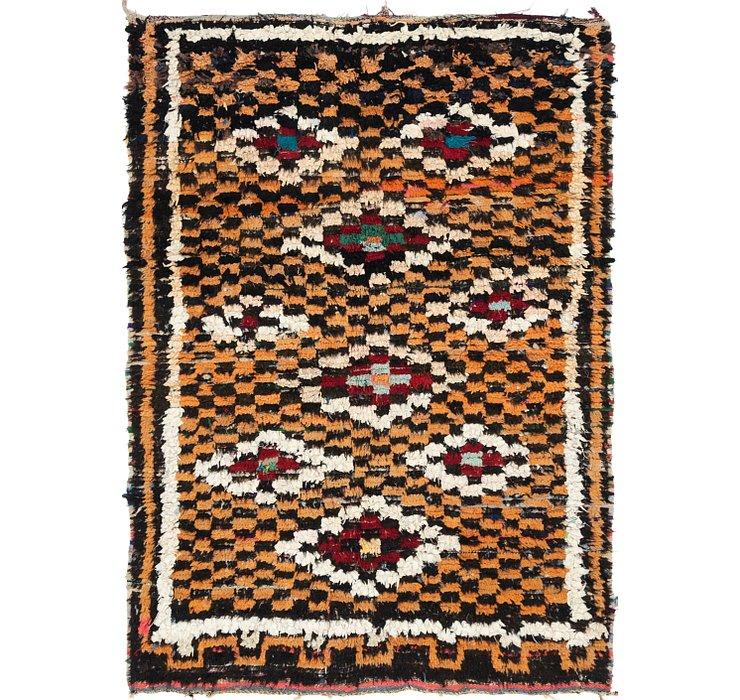 4' 10 x 7' Moroccan Rug