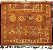 Link to 5' 5 x 6' 3 Moroccan Square Rug