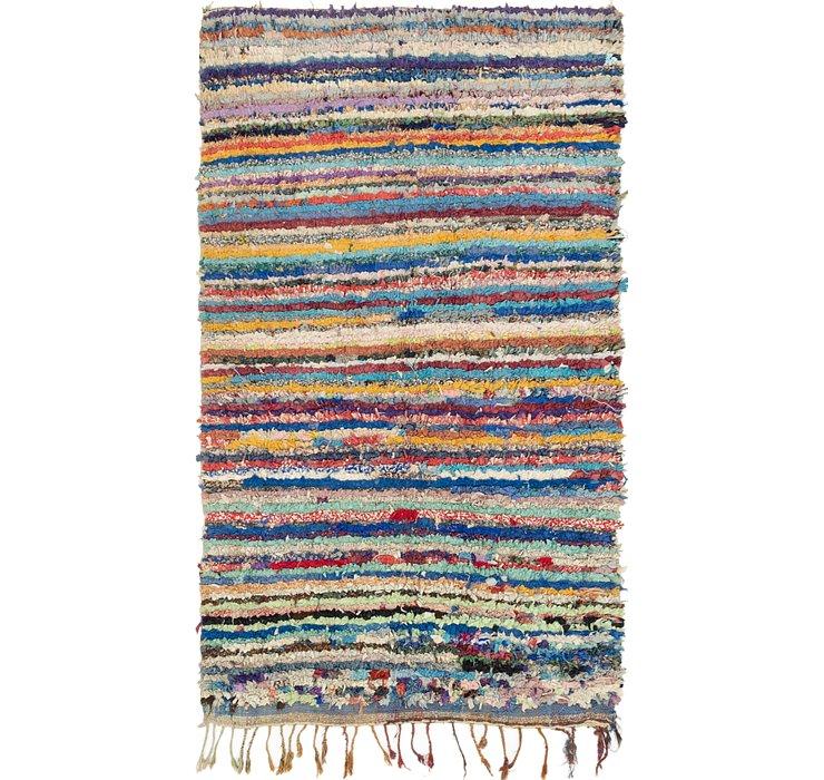 4' 7 x 7' 6 Moroccan Rug