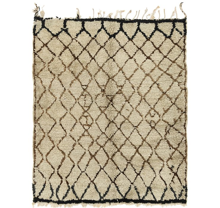 HandKnotted 5' 7 x 6' 7 Moroccan Square Rug