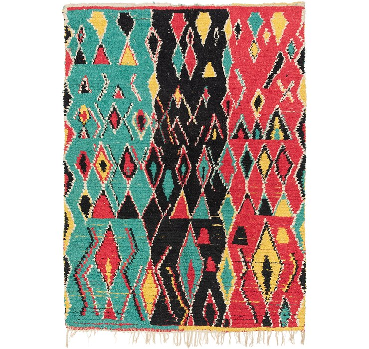 4' 5 x 6' 4 Moroccan Rug