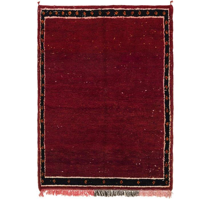 4' 10 x 6' 10 Moroccan Rug