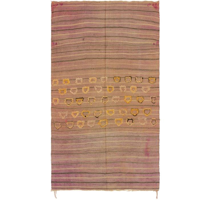4' 8 x 8' 2 Moroccan Rug