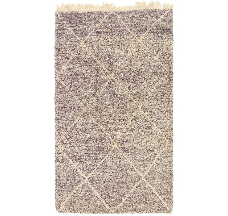 4' 10 x 8' 9 Moroccan Rug