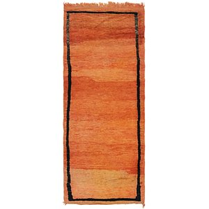 HandKnotted 2' 10 x 7' 10 Moroccan Runner Rug