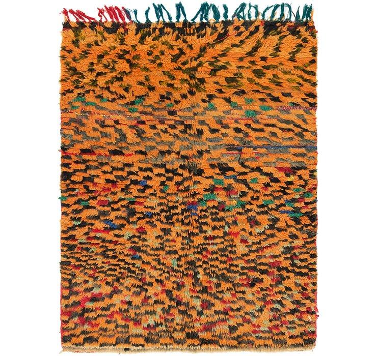 4' 2 x 5' 6 Moroccan Rug