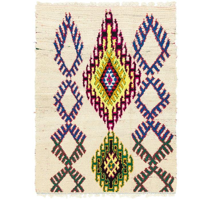 4' x 5' Moroccan Rug
