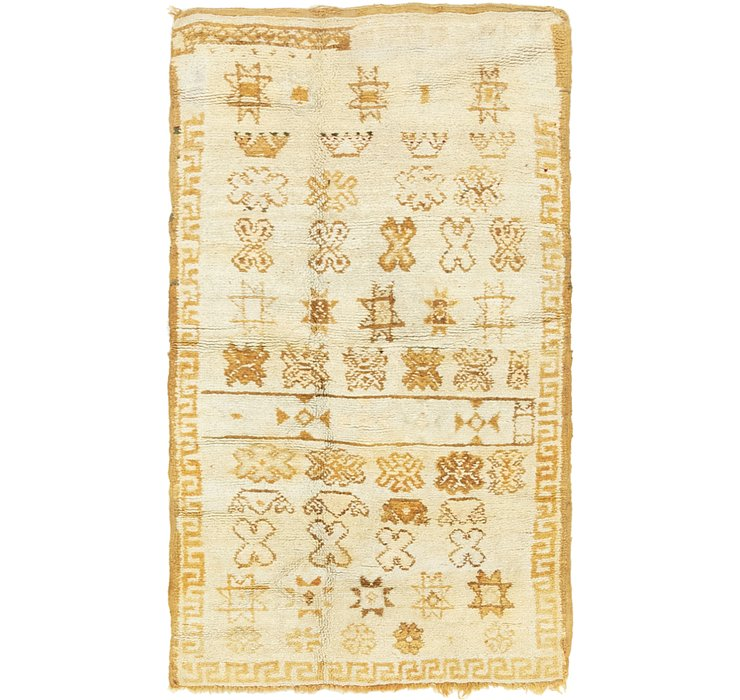 3' x 5' 3 Moroccan Rug
